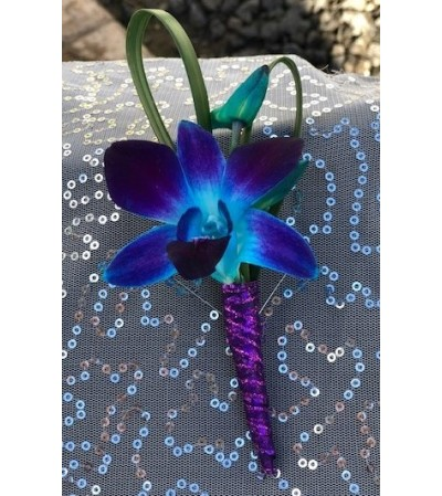 Prom Orchid Boutonniere