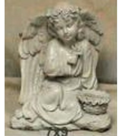 Statue - Angel With A Small Basket