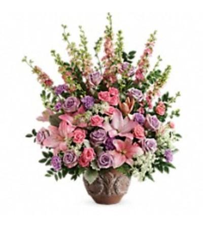 Teleflora's T279-3 Soft Blush Bouquet
