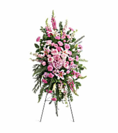 Teleflora's T280-7A Glorious Farewell Spray
