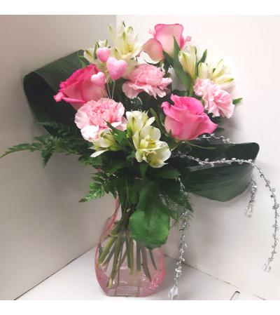 Valentine's Pink Heart's