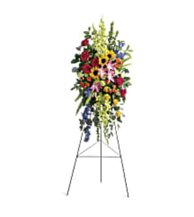 Teleflora's T282-6A Love Lives On Spray