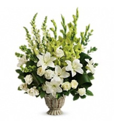 Teleflora's T279-4 Clouds Of Heaven Bouquet