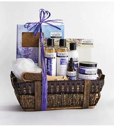 Denaril Lavender Spa Basket
