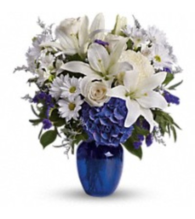 Teleflora's T209-3 Beautiful In Blue