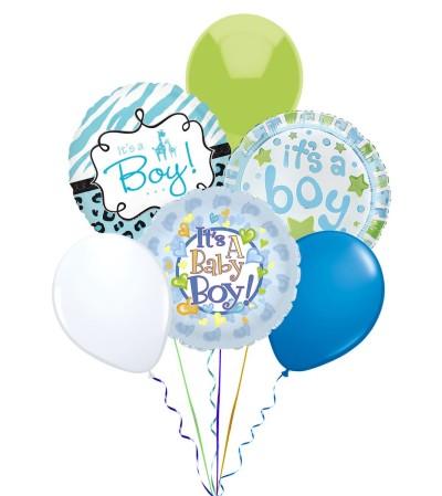 Balloon Bouquet-Baby Boy