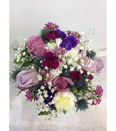 Prom BVP22- Purple Pop Bouquet (pick up only)