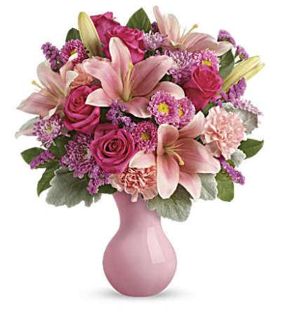 A Lush Blush Bouquet
