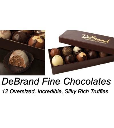 DeBrand-12 Piece Truffle