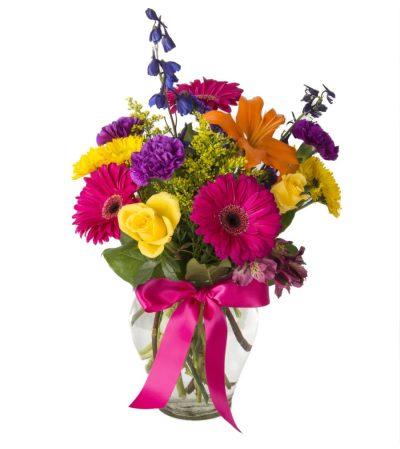 Glorious Garden-Vase