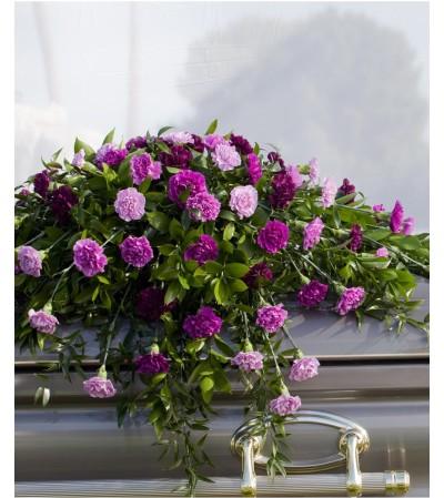 Lavender Reflections-Casket Spray