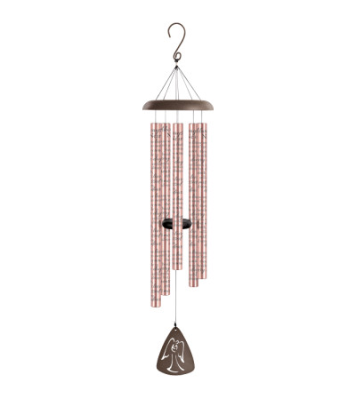 "44"" Sonnet Windchime - Always Near - Rose Gold"