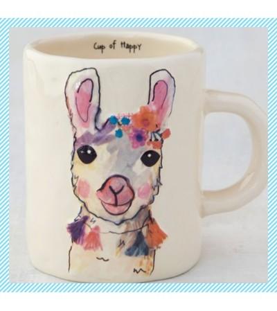 Cup of Happy-Llama Mug