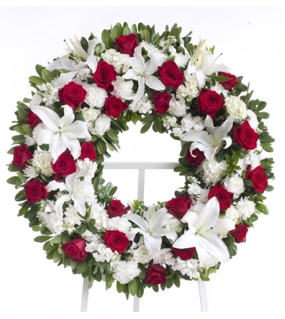 Cherished Farewell-Wreath