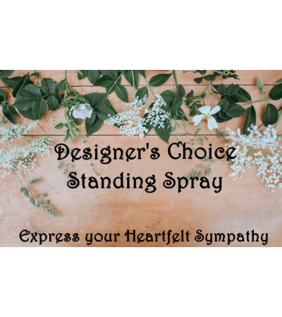 Standing Spray-Designer's Choice