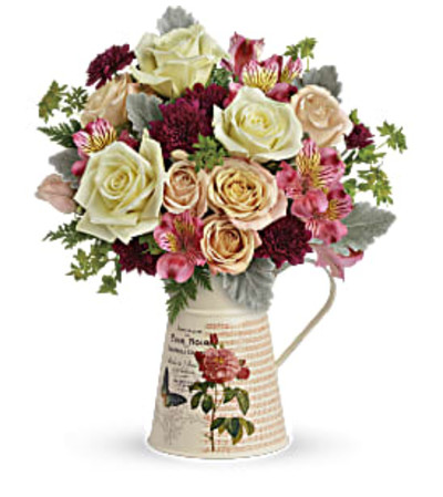 Mod Mademoiselle Pitcher Bouquet