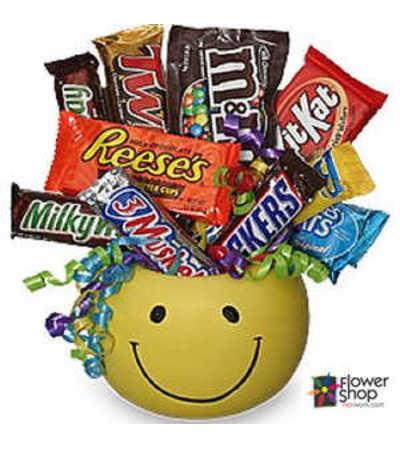 Junk Food Smiles Basket