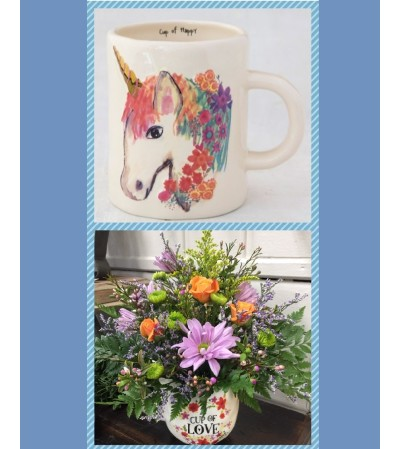 Cup of Happy-Unicorn Mug