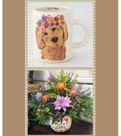 Cup of Happy-Puppy Mug