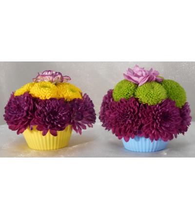 Blooming Cupcake