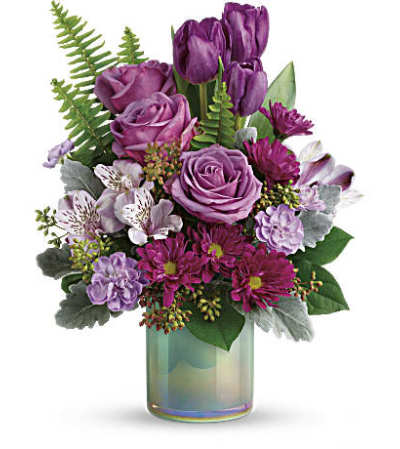Teleflora Art Glass Garden Bouquet