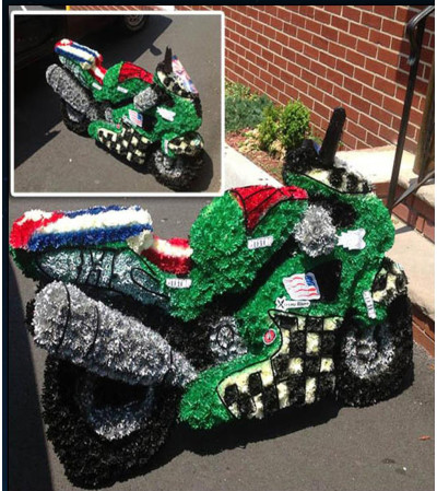 Floral Motorcycle