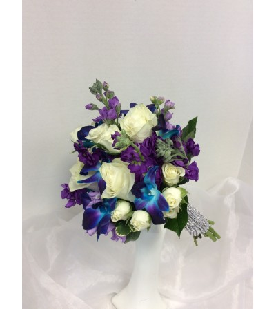 Prom BVP20 - Blue Sapphire Bouquet (pick up only)
