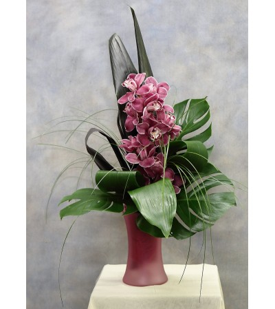 Regal Cymbidium Orchid Bouquet