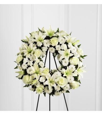 "Treasured Tribute™ Wreath 22"""