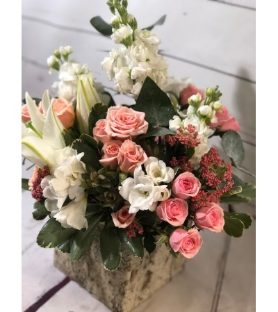 Hey Sweetie Roses and Freesia