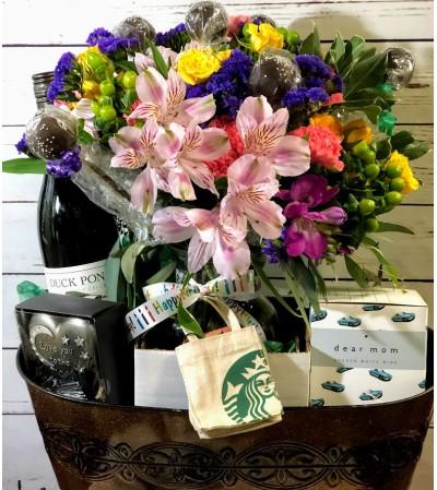 Basket of Birthday Wishes