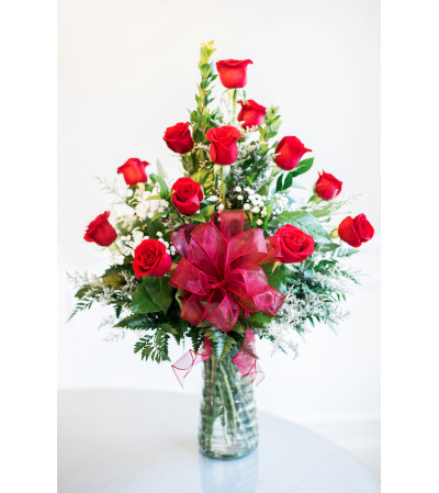 Classic Red Roses by Ellington's