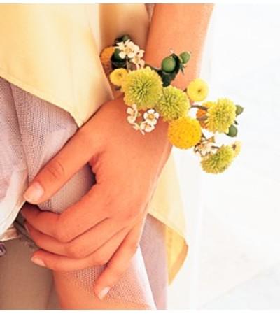 Chartreuse & Yellow Bracelet