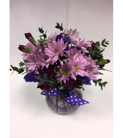 Purple Posey Bouquet