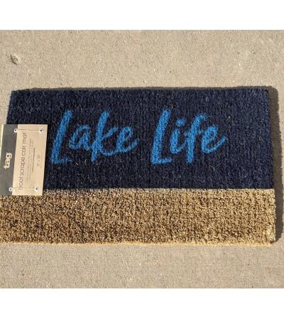"""Outdoor """"Lake Life"""" Mat"""