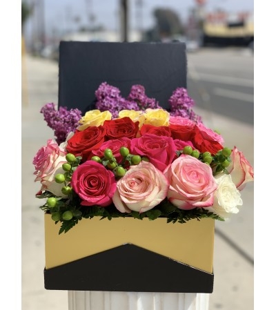 Spring Delights Box Bouquet