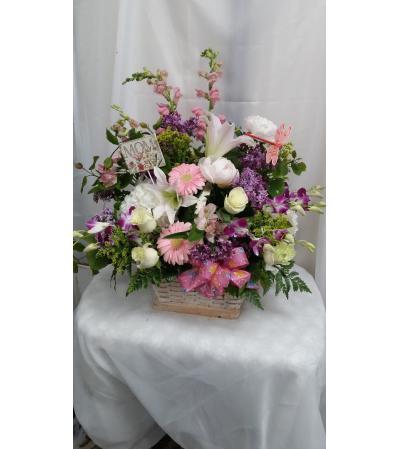 basket of blooms 4 u