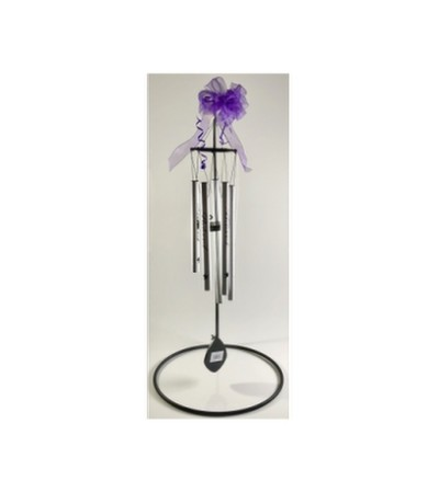 The Peace Prayer Wind Chime