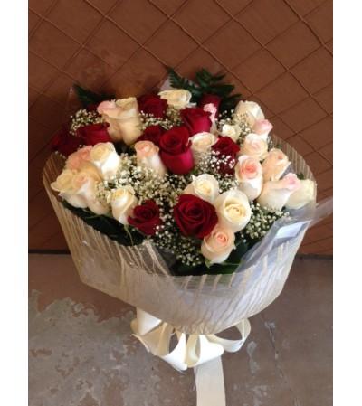 Trio Rose Bouquet
