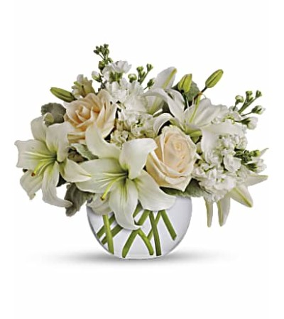 Isle of White Flower Bouquet