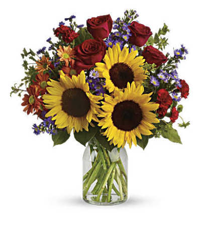 Pure Happiness Flower Bouquet