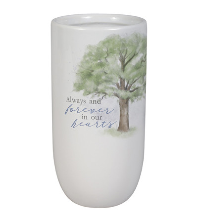 Always in Our Hearts Vase