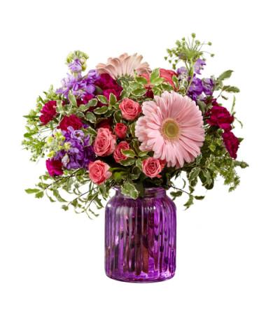 Purple Prose Bouquet FTD