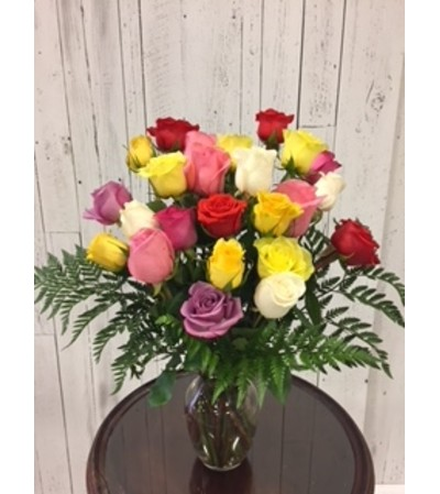 Limited Time 24 color roses Bouquet