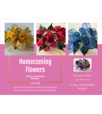 Homecoming Corsages