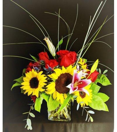 Sunflowers delight
