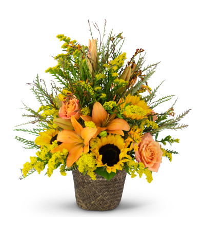 Fall Harvest Basket by Country Gardens