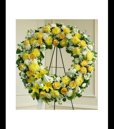 Wreath-Yellow Mix