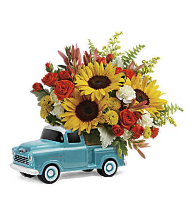 Chevy Pick Up Bouquet