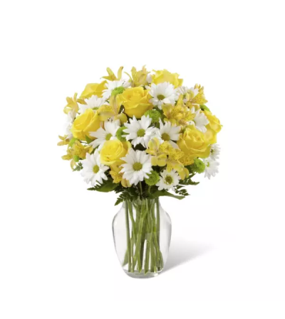 The Sunny Sentiments™ Bouquet by FTD® Flowers